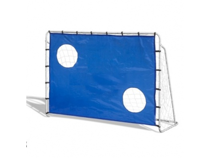 Futbalová bránka s otvormi