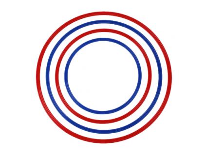 Prekážkový kruh plochý