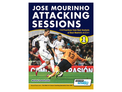 Jose Mourinho Attacking Sessions - 114 Practices from Goal Analysis of Real Madrid's 4-2-3-1