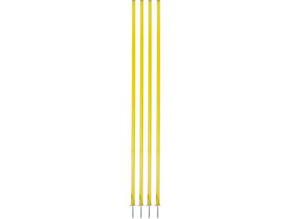 Slalomová tyč s hrotom 160cm