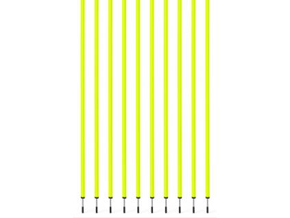 Slalomová tyč s hrotom 160cm / 32mm