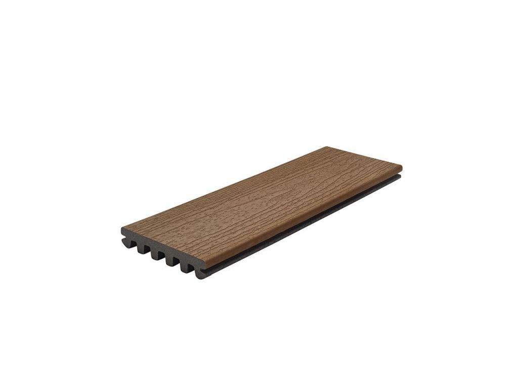 TREX Enhance Basic délka 366 cm - odstín Saddle  trex, terasa, usa