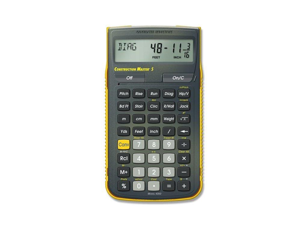 Tesařská kalkulačka Construction Master 5