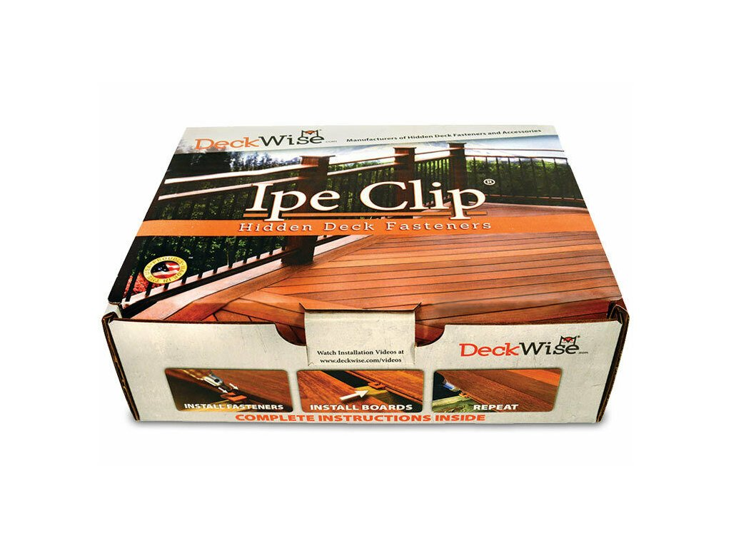 IPE klip Extreme4, 4mm  terasový