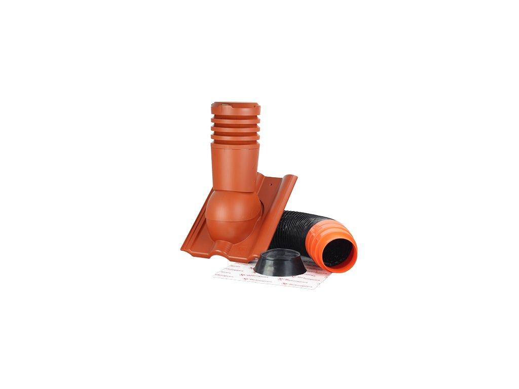38200622 Odvetravaci komplet DN 150mm cihlova