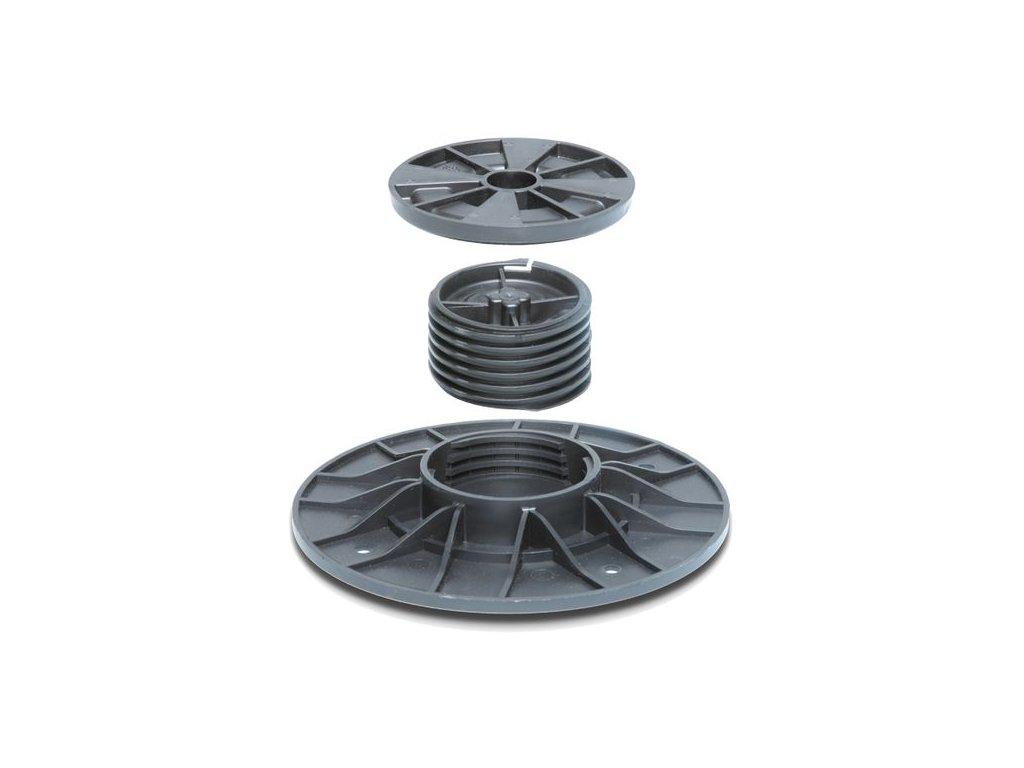 Rektifikační terč PRAKTIK 3D, 55-70mm  stavitelný pro terasy