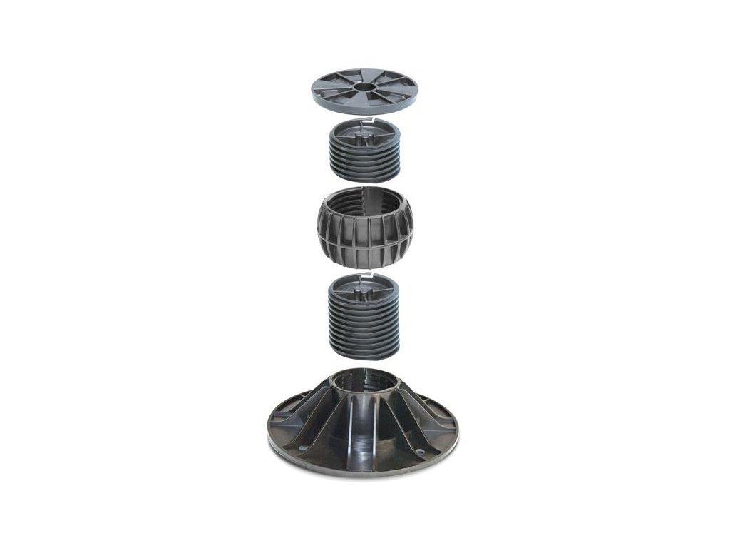 Rektifikační terč PRAKTIK 3D, 166-206 mm  stavitelný pro terasy