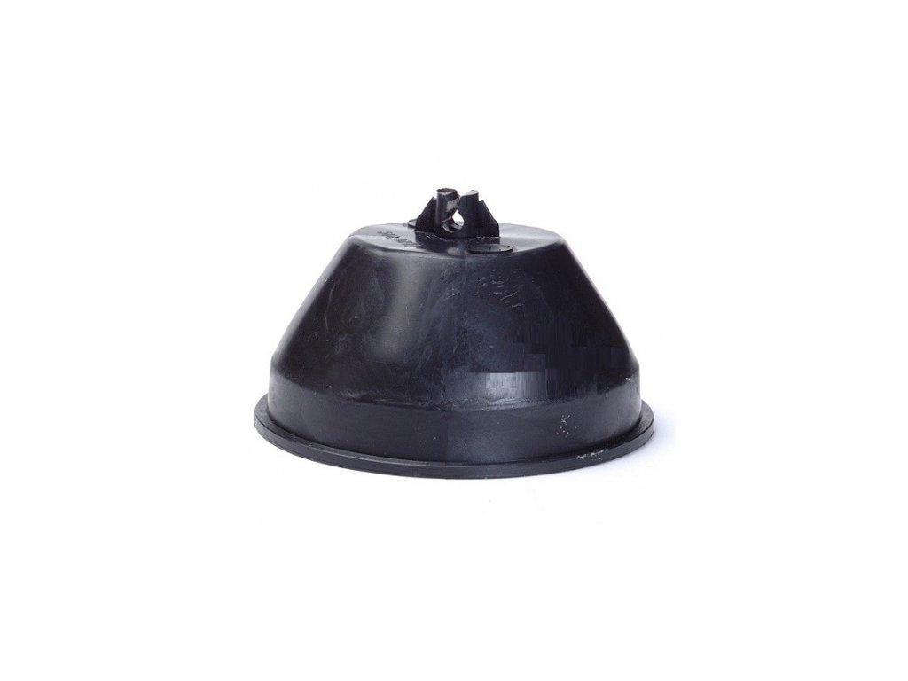 Podpěra vedení pro ploché střechy - beton / PVC kulatá