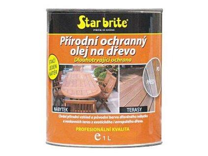 Přírodní ochranný olej na dřevo