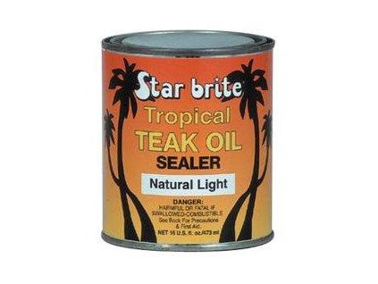 Tropický týkový olej Light