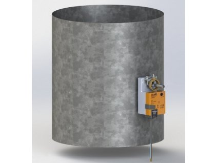 Regulační klapka elektricky ovládaná K 8 pro IB 8