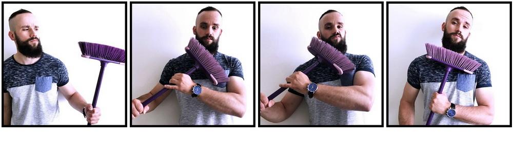 Jak si česat vousy