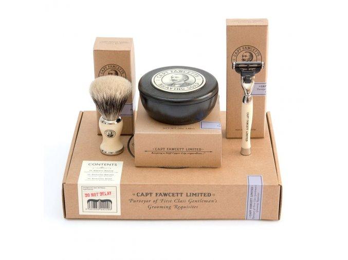 Captain Fawcett Shaving Gift Set low res 3e