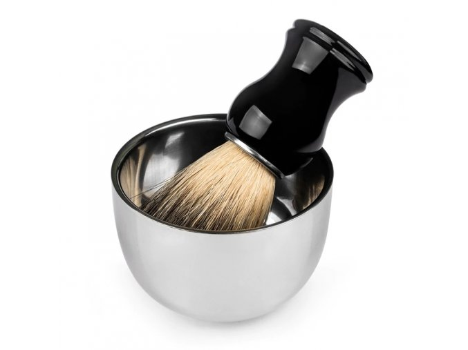 QSHAVE Stainless Steel Shaving Soap Bowl2
