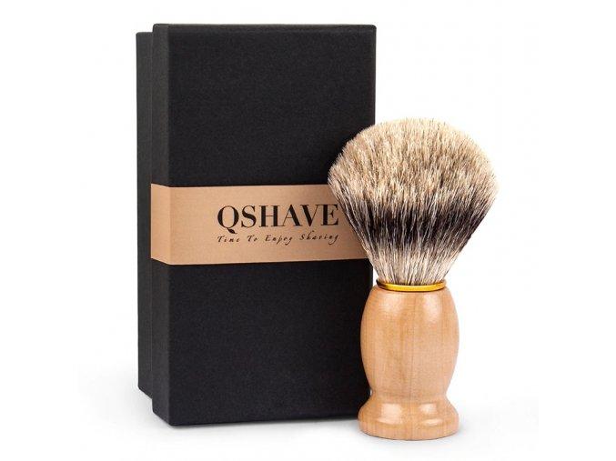 Qshave Shaving Brush browntree1