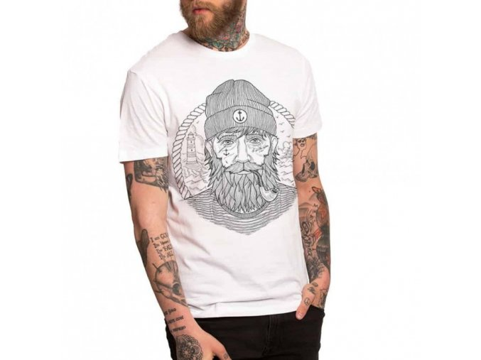 t shirt unisex white real captain