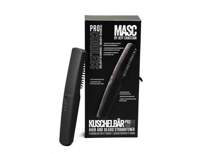 Bezdrátová žehlička na vousy a vlasy MASC Kuschelbär® PRO 1