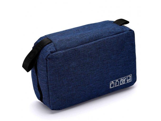 Závěsná toaletní taška Elements - Navy