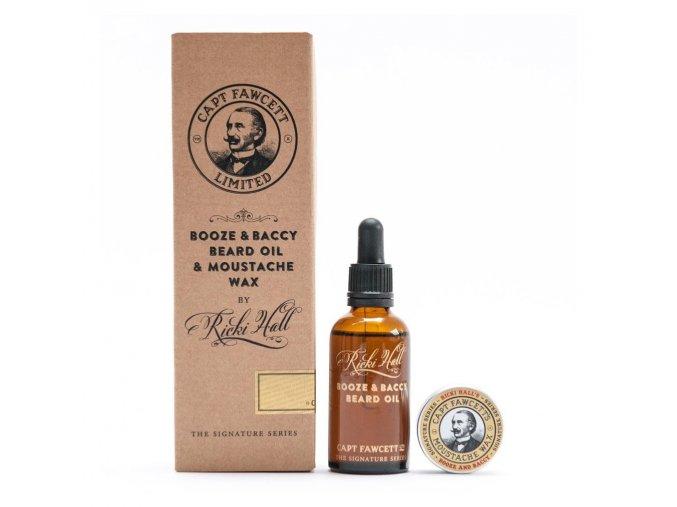captain fawcett booze and baccy beard oil and moustache wax 1024x1024