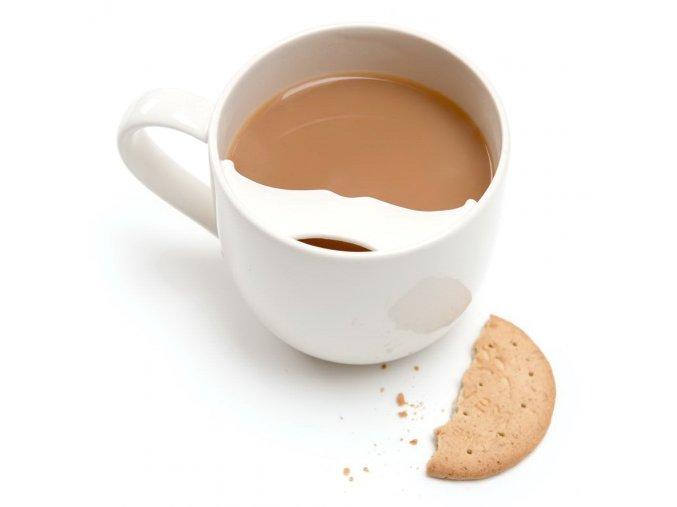 Captain Fawcett Moustache Guard Mug Left Handed 3e2