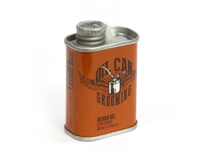 Oil Can Grooming Iron Horse Beard Oil 50ml 1 1
