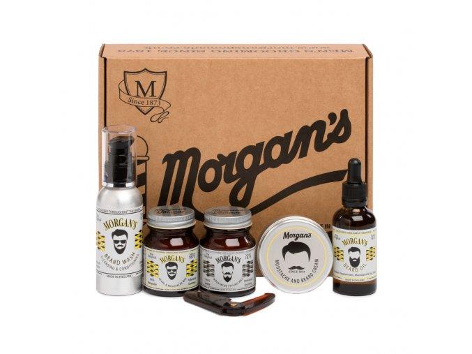 Moustache Beard Gift Set