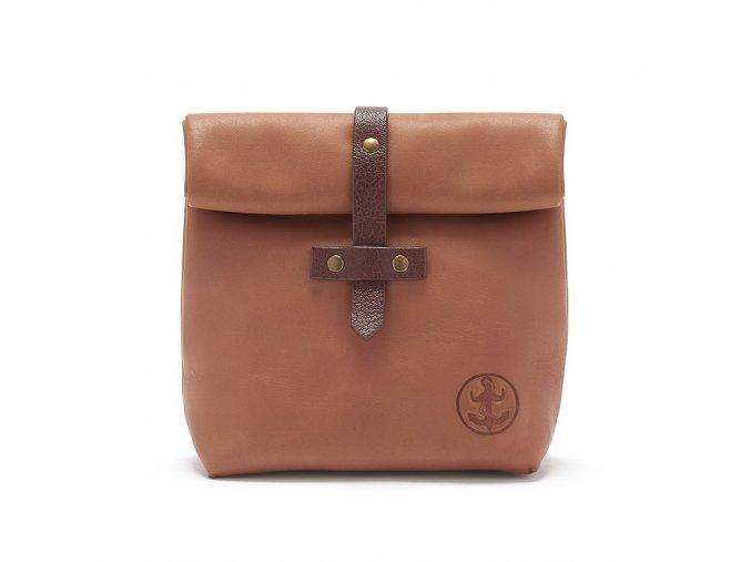 Small Leather Shaving Bag 1e