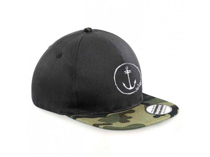 cap snapback jungle camo anchor logo1re