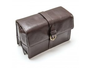 Captain Fawcett Leather Washbag low res 0
