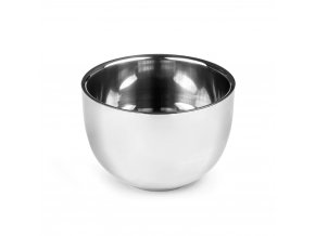 QSHAVE Stainless Steel Shaving Soap Bowl1