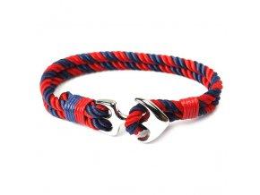 HOMOD Stainless Steel Anchor Bracelets Men Charm Nautical Survival Rope Chain Paracord Bracelet Male Wrap Metal.jpg 640x6404