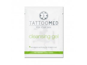 tattoomed produkt sachet cleansing gel1