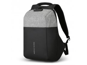 Bezpečnostní batoh se zámkem a USB Mark Ryden Tag 1