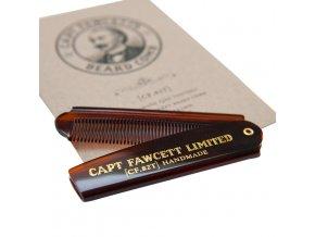 Skládací hřeben na vousy Capt. Fawcett