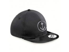 cap snapback midnight camo anchor logo1re