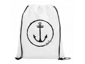 dawstring bag white gymsack anchor logo1 4