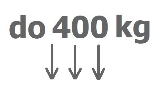 Do 400 kg