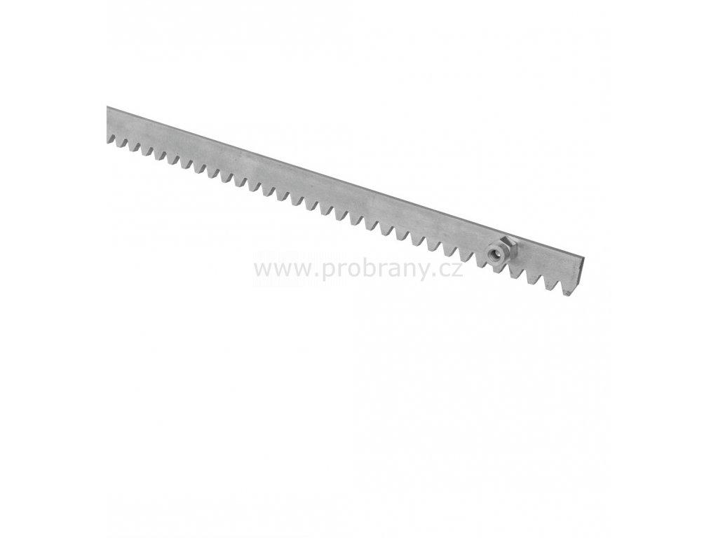 Z/8 kovový hřeben s fixačními šrouby, tl. 8mm, modul 4