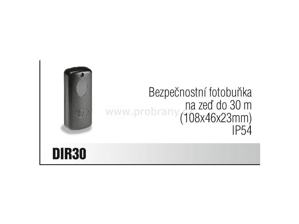 CAME DIR 30 bezpečnostní fotobuňka na zeď do 30m, IP54