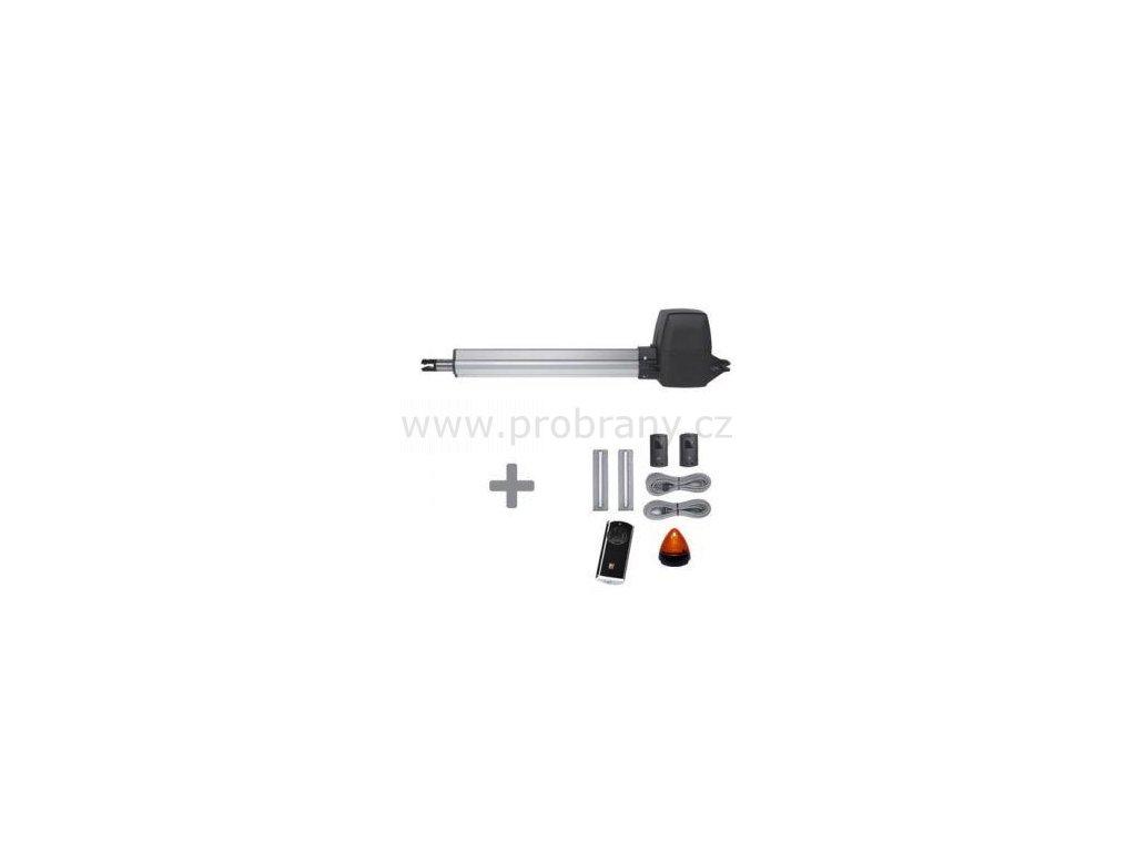 Hörmann RotaMatic P1 SK BiSecur pohon pro jednokřídlou bránu do průjezdu 2,5m a hmotnosti 400kg, fotobuňky, dálkové ovládání, maják