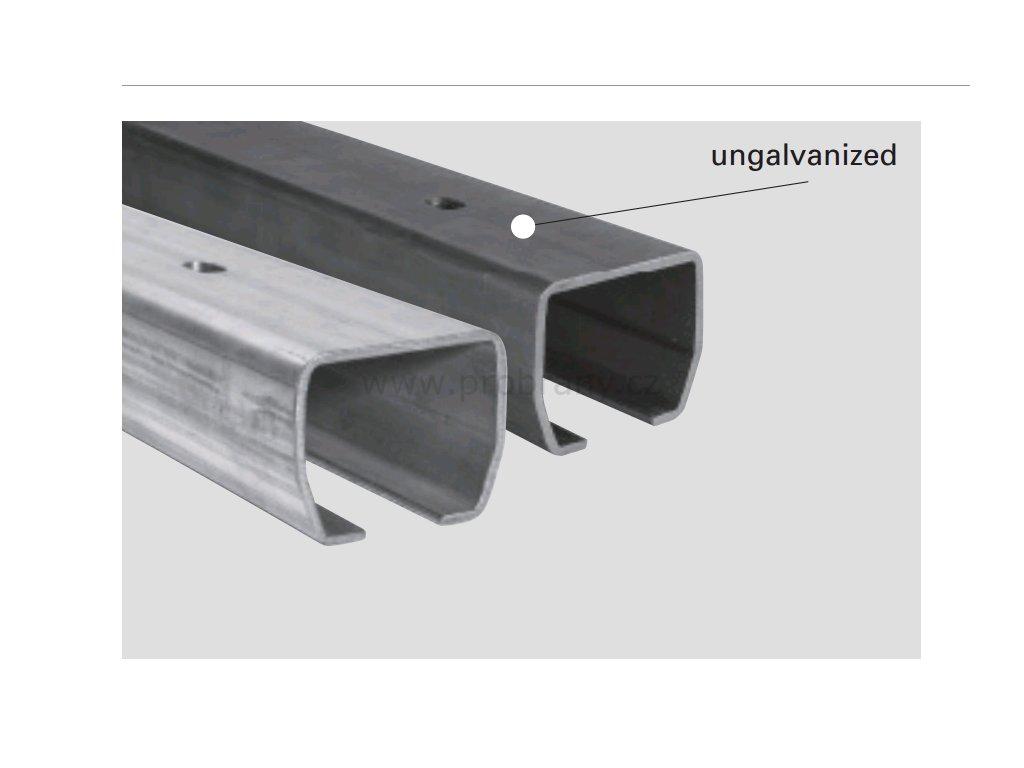 CAIS STAGE SZ vodící profil, šína 73x61mm, povrchová úprava pozink