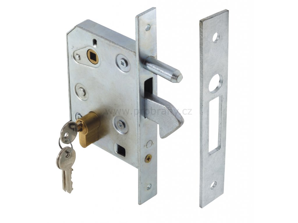 CAIS LOCK L zámek pro posuvnou bránu s cylindrickou vložkou