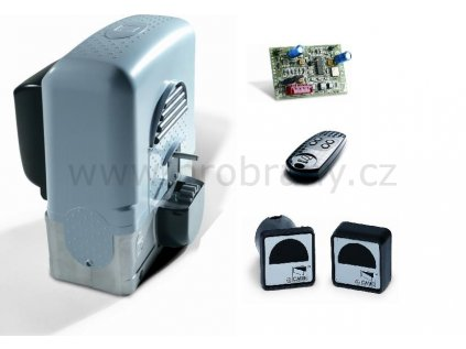 CAME BK-1800 mini pohon pro posuvnou bránu do 1800kg, fotobuňky, dálkový ovladač