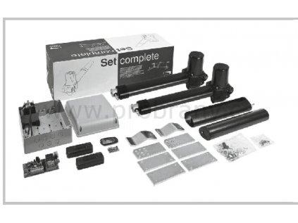 CAME KRONO maxi pohony pro dvoukřídlou bránu do průjezdu 6m, fotobuňky, dálkový ovladač