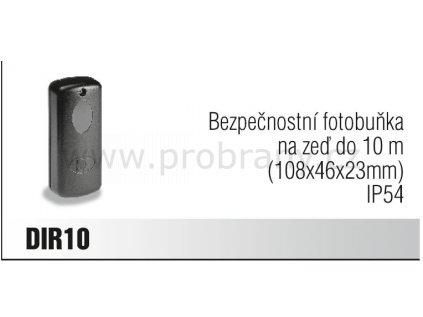 CAME DIR 10 bezpečnostní fotobuňka na zeď do 10m, IP54