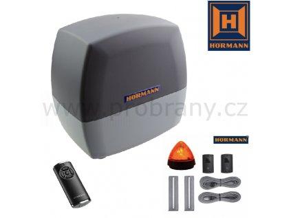 Hörmann LineaMatic SK BiSecur pohon pro posuvnou bránu do 300kg + dálkový ovladač HS5 BS