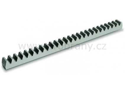 CGZ6  ocelový hřeben 1m, t.30mm, modul zubu 6