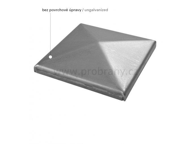 CAIS ROOF 8 B čtvercová záslepka bez povrchové úpravy
