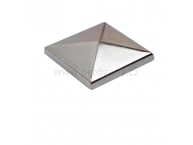 CAIS ROOF 8 S čtvercová záslepka, povrchová úprava zinek