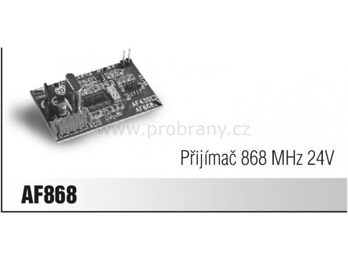 CAME AF 868, přijímač, frekvence 868Mhz